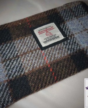 Harris Tweed purse: Fraser