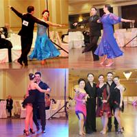 students dancing at contests