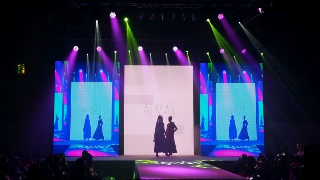 Catwalk LED Video Wall Rental London  LED Video Wall Hire