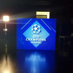 Chair Covers To Hire Liverpool Table Wedding Uefa Champions League Led Video Screen   Dancing On Stars