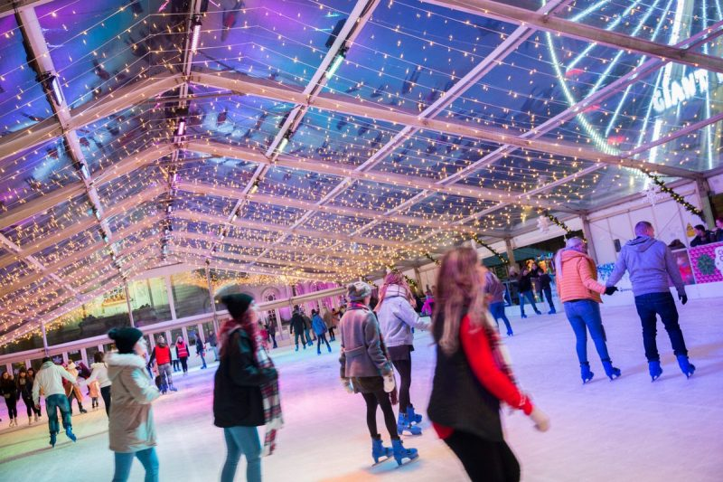 Danco Provide Ice Rink Cover At Cardiff Winter Wonderland