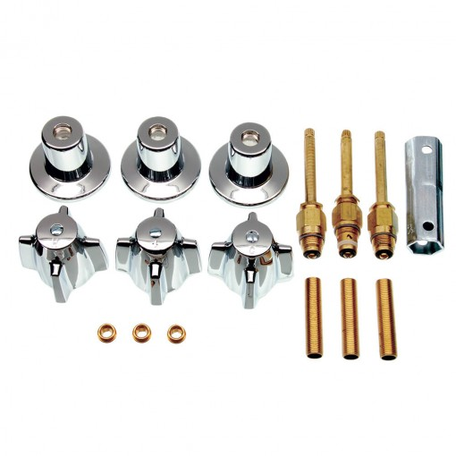 kitchen sink stoppers moen faucet hands free tub/shower 3-handle remodeling kit for central brass in ...