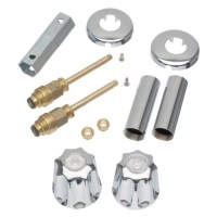 Tub/Shower 2- Handle Remodeling Kit for Gerber in Chrome ...