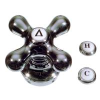 Universal Faucet Cross Handle in Chrome - Danco