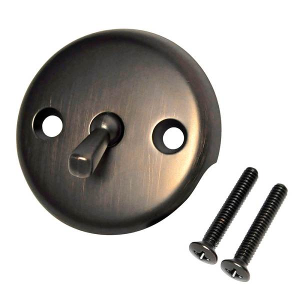 Overflow Plate With Trip Lever In Oil Rubbed Bronze - Danco