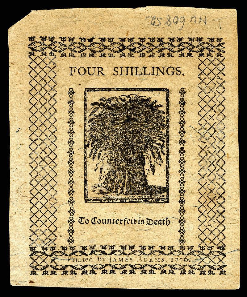 4 Shillings