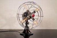 GE Fan Lamp | GE Model | Chrome | Desk Lamp | Table Lamp