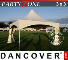Pagoda Marquees PartyZone 3x3 m PVC