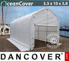 Boat shelter 3.5x10x3x3.8 m