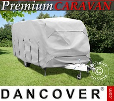 Caravan cover, 6.4x2.5x2.25 m