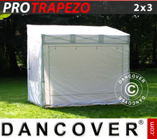 CARAVAN AWNINGS: Pop up gazebo FleXtents PRO Trapezo 2x3m, incl. 4 sidewalls