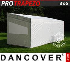 CARAVAN AWNINGS: Pop up gazebo FleXtents PRO Trapezo 3x6m, incl. 4 sidewalls