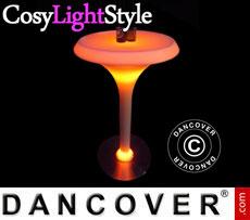 Event furniture: LED Bar set 60x60x108cm