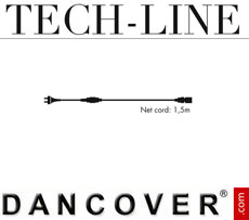 Extension Cord with plug Tech-Line, 1.5 m