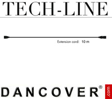 Extension Cord without plug Tech-Line, 10 m