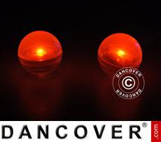 Party light, Fairy Berry, LED Orange, 24 pcs.