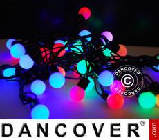 LED Fairy lights, blinking, 25 m, Multi coloured