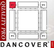 Flooring Corner piece no. 1, Anthracite