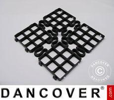 Outdoor floor tiles GRID25 1 m² (4 pc.)