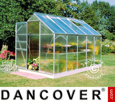 Greenhouse Halls Popular Poly 1.93x3.19x1.95 m, Aluminium