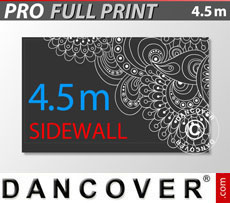 Printed sidewall 4.5 m for FleXtents PRO