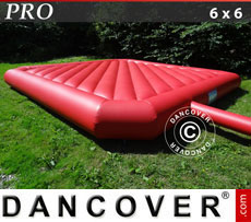 Bouncy cushion 6x6m, Red, rental quality