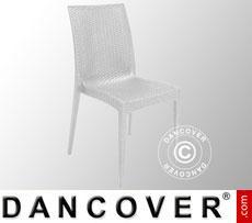 Chair, Rattan Bistrot, White, 6 pcs.