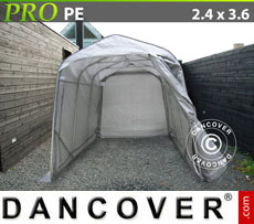 Portable Garage PRO 2.4x3.6x2.4 m PE, Grey