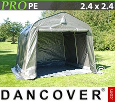 Portable Garage PRO 2.4x2.4x2 m, with ground cover