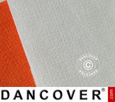 Tablecloth, paper 2 pcs. 1.2 x8m (16m), White