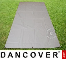 Ground cover 2.6x3.1 m PVC Grey