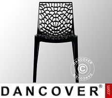 Chair, Gruvyer, Anthracite, 6 pcs.