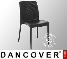 Chair, Boheme, Anthracite, 6 pcs.