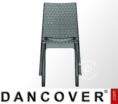 Chair, Hypnotic, Clear Smoked, 6 pcs.
