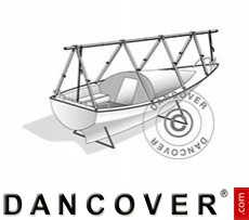 Deck frame for boat cover, NoTool, 8 m