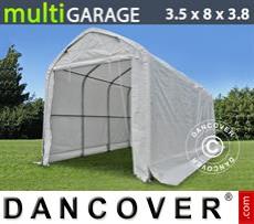 Storage shelter multiGarage 3.5x8x3x3.8 m, White