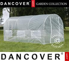 Polytunnel Greenhouse 2x4.5x2 m, Transparent