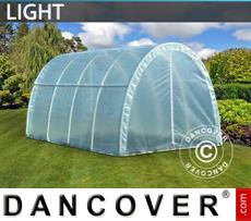 Polytunnel Greenhouse Light 2,2x4x1,9 m, Transparent