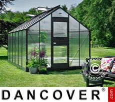 Greenhouse Polycarbonate Juliana Junior 12.1m², 2.77x4.41x2.57 m, Anthracite