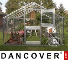 Greenhouse Glass Juliana Junior 2.77x3.70x2.57 m, Aluminium
