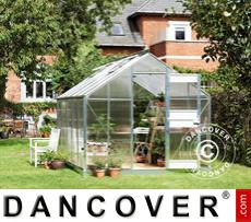 Greenhouse Polycarbonate Juliana Junior 9.9m², 2.77x3.70x2.57m, Aluminium