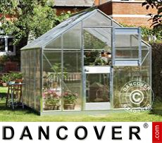 Greenhouse Polycarbonate Juliana Junior 8.3m², 2.77x2.98x2.57 m, Aluminium
