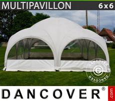 Marquee Multipavillon 6x6 m, White