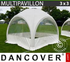 Marquee Multipavillon 3x3 m, White