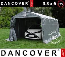 Portable Garage PRO 3.3x6x2.4 m PVC, Grey