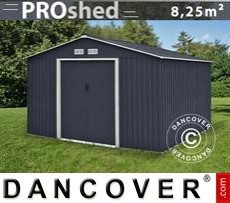 Garden Shed 2,77x3,19x2,02 m ProShed, Anthracite