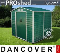 Garden shed 2.13x1.91x1.90 m ProShed, Green