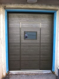 Residential Walk Through Garage Door Installation & Repair