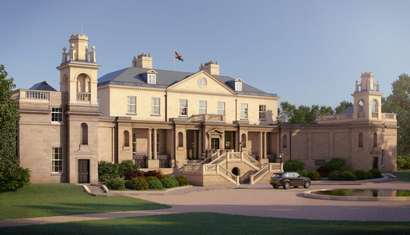 most luxurious places English countryside
