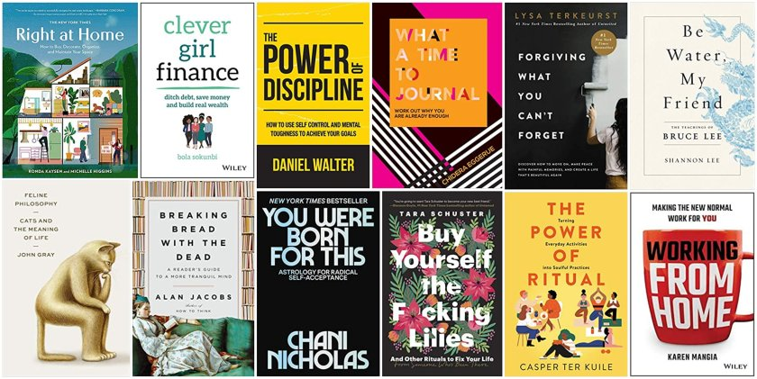 The new advice and self-help books best for every 2021 goal and keeping New Year's resolutions.